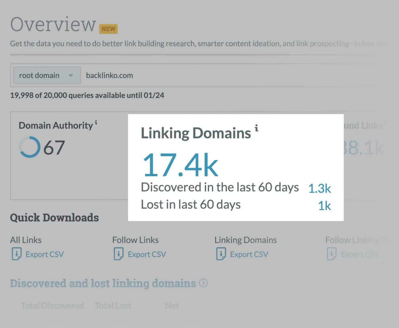 linking domains در موز