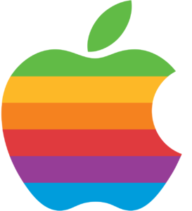 لوگو رنگین کمانی اپل